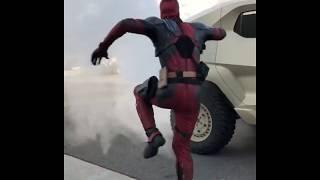 Rezavani Tank - Deadpool with Supercar Blondie