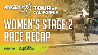 2019 Women's Stage 2 Highlights - Presented by Visit California
