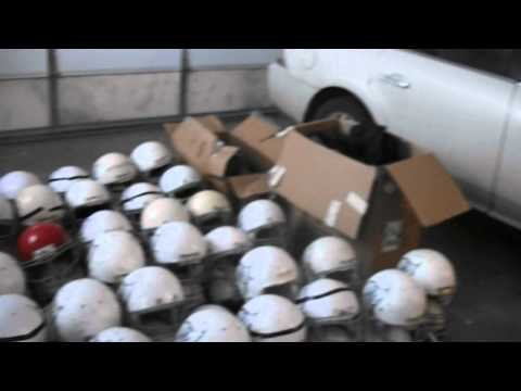 Donation for Serbian Kids ... American Football Equipment