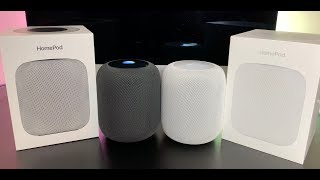 Apple HomePod Smart Speaker Stereo Pair Review: Surprisingly Good Speaker!