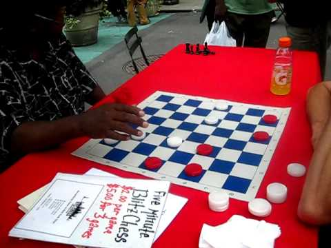 checkers battle