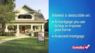 Deducting Mortgage Interest and Property Taxes - TurboTax Video 2011