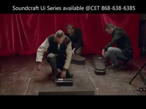 Soundcraft ui digital mixer series @CET Caribbean Entertainment Technologies Ltd 868-638-6385