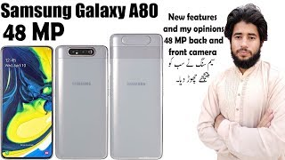 Samsung Galaxy A80 | Best bezel less phone | No notch no punch hole Oppo find X is no more