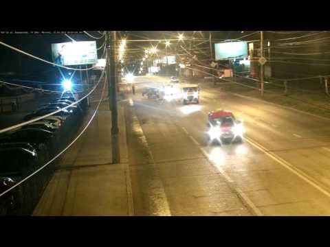 25 06 2016 Момент ДТП с наездом на пешехода на ул.  Ворошилова (Ижевск)