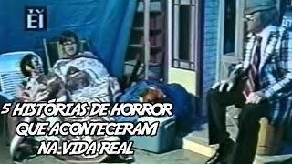 5 Histórias de Horror que aconteceram na Vida Real