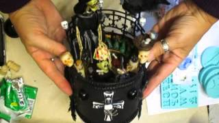 Halloween Altered Round Box, Part 3 - jennings644