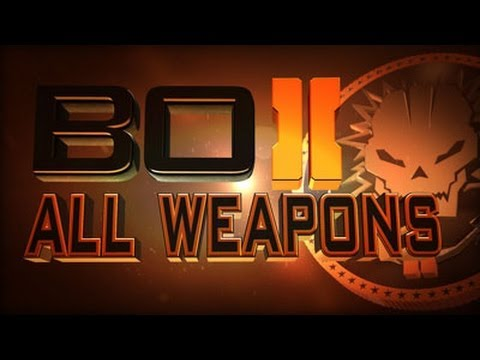 Black Ops 2: EVERY Weapon! (Primary)