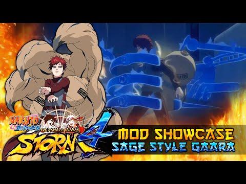 Sage Style Gaara Shukaku Unleashed!!! Naruto Shippuden Ultimate Ninja Storm 4 Mod thumbnail