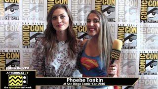 Phoebe Tonkin (The Originals) at San Diego Comic-Con 2016