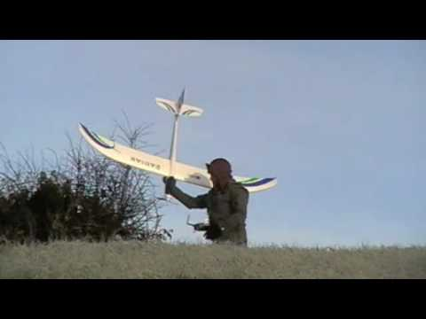 Parkzone Radian Glider Maiden Flight