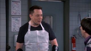 All Elon Musk Hollywood Cameos (HD) - Big Bang Theory, Iron Man 2 & more