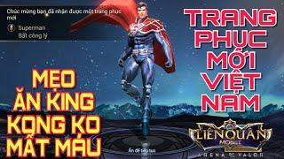 [Kinas] Trang phục mới SUPERMAN Bất Công Lý ( mua và test ) và mẹo ăn king kong không mất máu