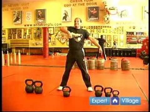 Kettlebell for Martial Arts Training Exercises : Kettlebell for Martial Arts Snatch Exercise Image 1