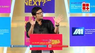 Full Speech of Arnab Goswami at IAA Summit