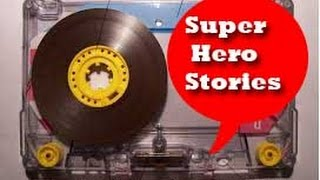 Cassette Trash Vol.1...Super Hero Stories