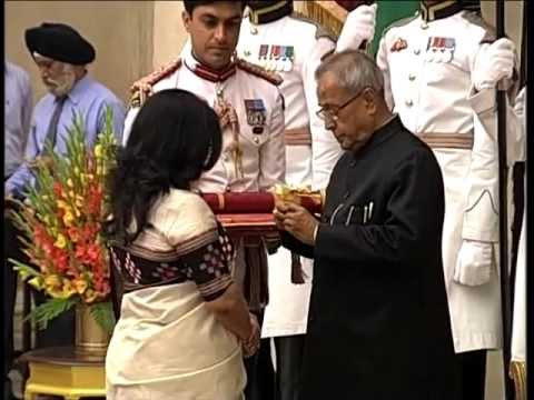 President confers Padma Awards, Part-1