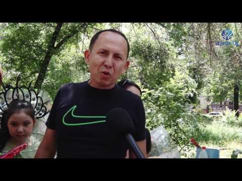 Видеоотчёт 1 Июня К/Т Россия (АЗИЯ ТВ)