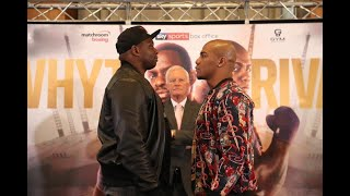 Whyte vs Rivas & Allen vs Price launch press conference