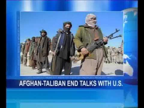 Afghan Taliban end Talks with U.S