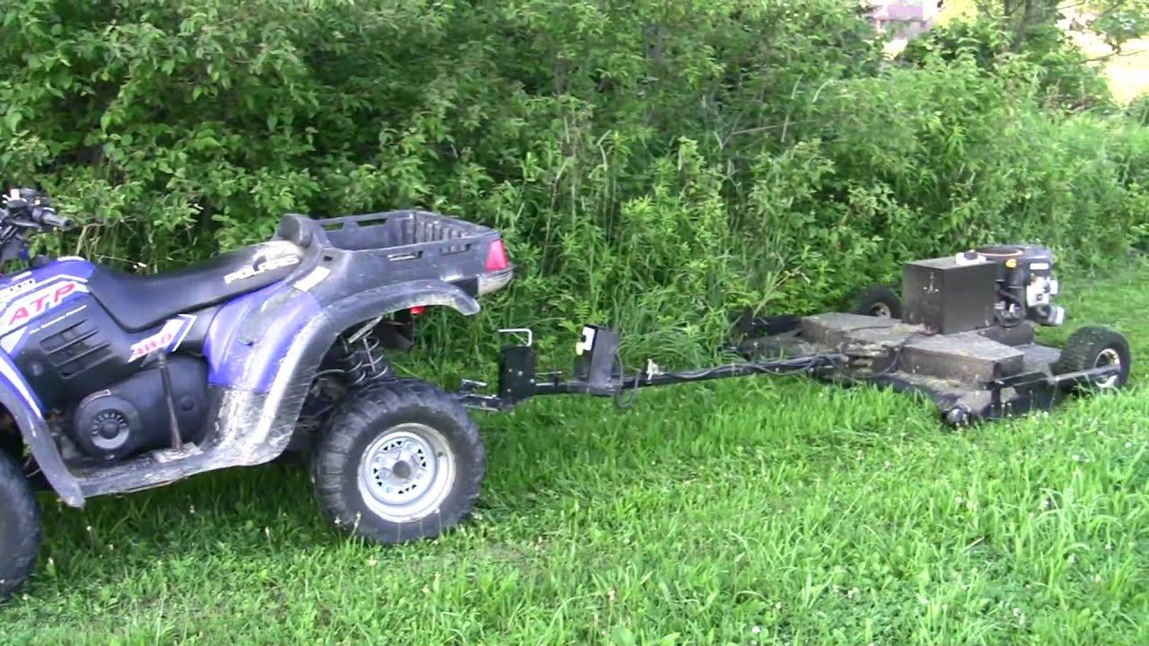 Polaris Atv And Lawn Mower Setup Youtube