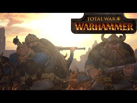 Dawi vs Empire  - Total War Warhammer Online Battle 50