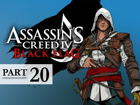 Assassin's Creed 4 Black Flag Walkthrough Part 20 - The Old Cove 100% Sync AC4 Let's Play