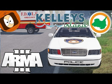 LIFE ISLAND | POLICE : COURSE POURSUITE AVEC UNE AUDI R8 ! | ARMA 3