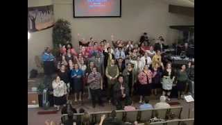 "ICF Choir ""Withholding nothing, I give You all of me"" Chicago on Fire Conference 5-4-2014"