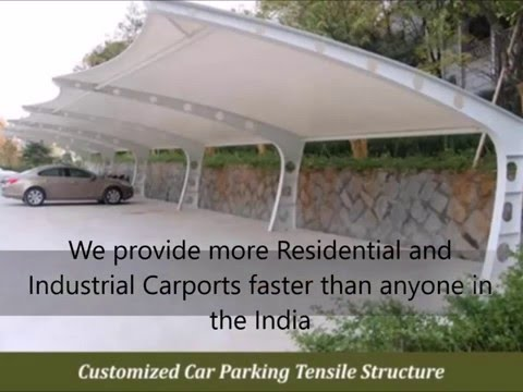 Manufacturers Car Parking Sheds & Structure Design, Supply, Installation & Construction Delhi, India