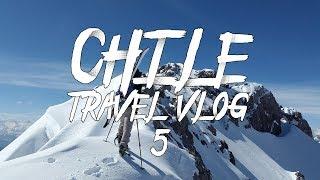 TRAVEL VLOG CHILE #5 | Skiing & Snowboarding (FUN)