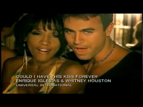 Enrique Iglesias Ft Whitney Houston - Could I Have This Kiss Forever 720p [HD]