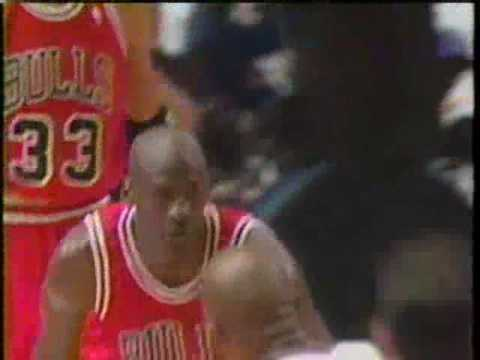 Bulls @ Knicks - 1996 Playoffs Game 3. Jordan 46 points