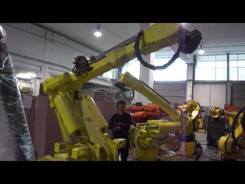 ABB IRB 6400 industrial robot in reprobots