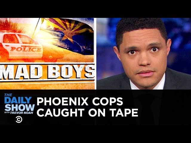 Phoenix Cops' Extreme Response to Shoplifting Caught on Tape | The Daily Show thumbnail