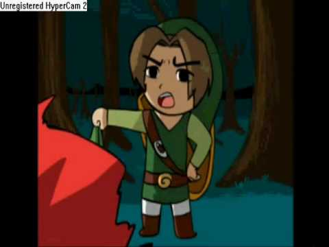 Toon Link gets angry!