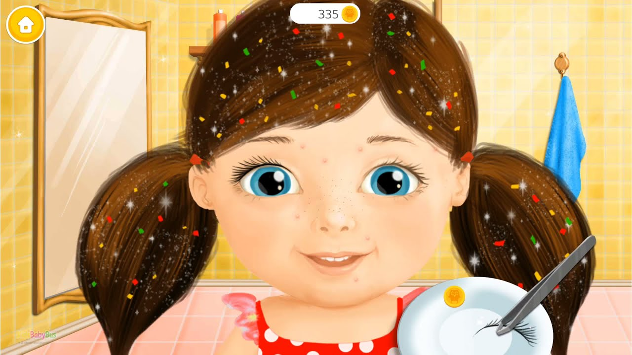 Sweet Baby Girl Beauty Salon - Makeover Fun Time & Dress Up Fun Game For Girls