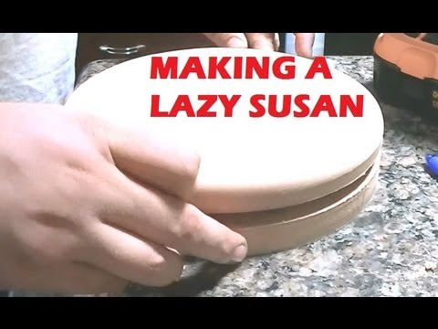 Making A Lazy Susan Youtube