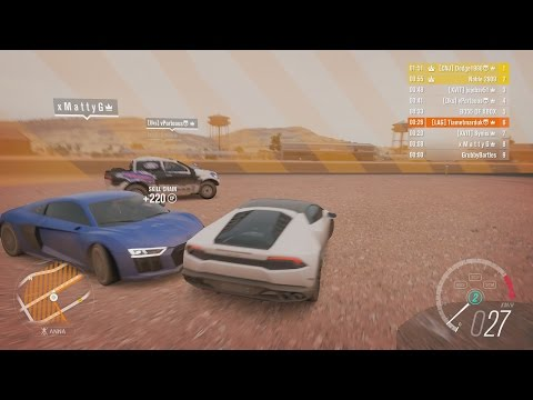 Forza Horizon 3 Online Funny Moments w/ xMattyG & Noble 2909!