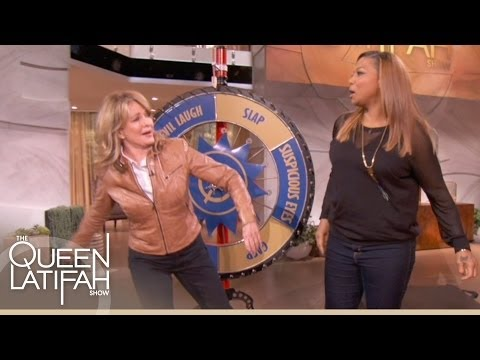 Deidre Hall Slaps Queen Latifah 'Soaps' Style on The Queen Latifah Show