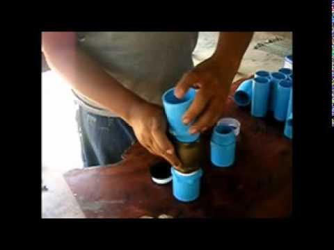 วิธีการทำเครื่องตะบันน้ำอย่างง่าย