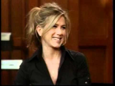 Jennifer Aniston using the