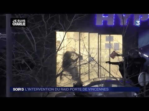 UNCENSORED FULL - French police launch assault in Jewish supermarket in Paris Vincennes HD