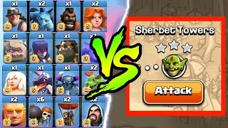 Clash Of Clans - EVERY SINGLE TROOP vs!! - FINALE OF THE SERIES!?!