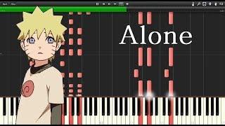 Naruto OST - Alone (Synthesia)