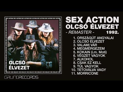 Sex Action: Olcsó élvezet (Teljes album - Remaster) - 1992/2019.