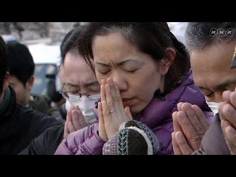 Moment of silence on third anniversary of Japan's devastating tsunami