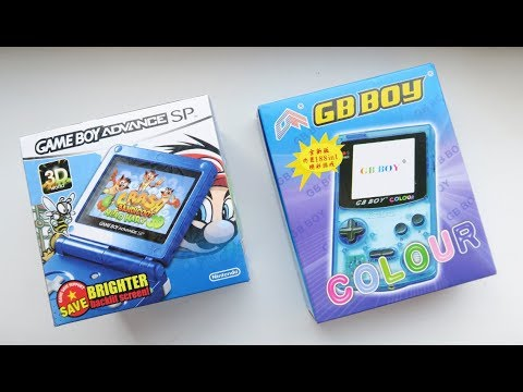Knock-Off Game Boys! GB Boy Colour + Fake SP