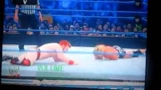 WWE SmackDown Sheamus and Rey Mysterio vs Dolph Ziggler and Alberto Del Rio Tag Team