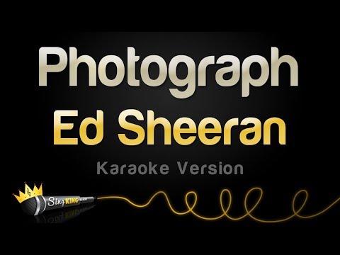 Ed Sheeran - Photograph (Karaoke Version)
